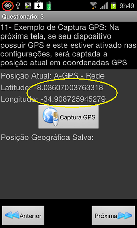 Figura 2 - GPS Real já ativado