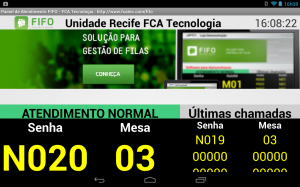 Painel Virtual Android