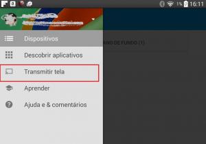 Configurando App Chromecast no Android