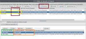 """Figura 8 – Tela de Critérios de Apuração de Respostas Virtuais com destaque para os critérios da resposta virtual """"BOM""""."""